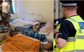 Poliția ia la rând locuințele românilor din Marea Britanie: Sunt vizate casele supra-aglomerate