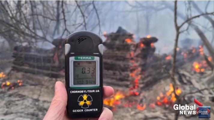 Nivelul radiatiilor de la Cernobîl, de 16 ori mai mare in urma incendiilor. Risc pentru Europa | DeStiut.ro