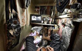 Apartamente înghesuite de 2m2 din Hong Kong, filmate direct deasupra