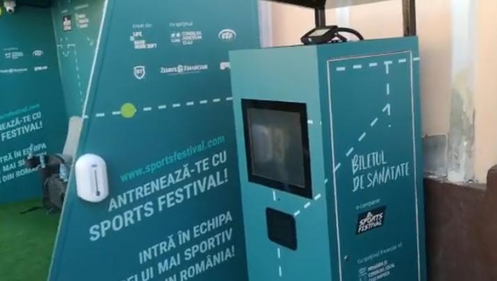 Clujenii au inaugurat prima stație sport smart de bus din țara!