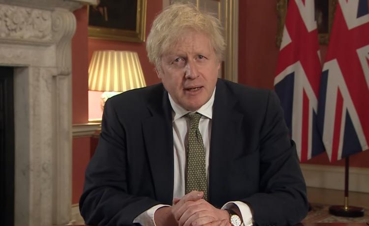 Boris Johnson impune blocarea dură a Marii Britanii în urma răspândirii noii tulpini Covid-19