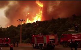 Flăcări ca din Iad! O nouă misiune pentru pompierii români în Grecia!
